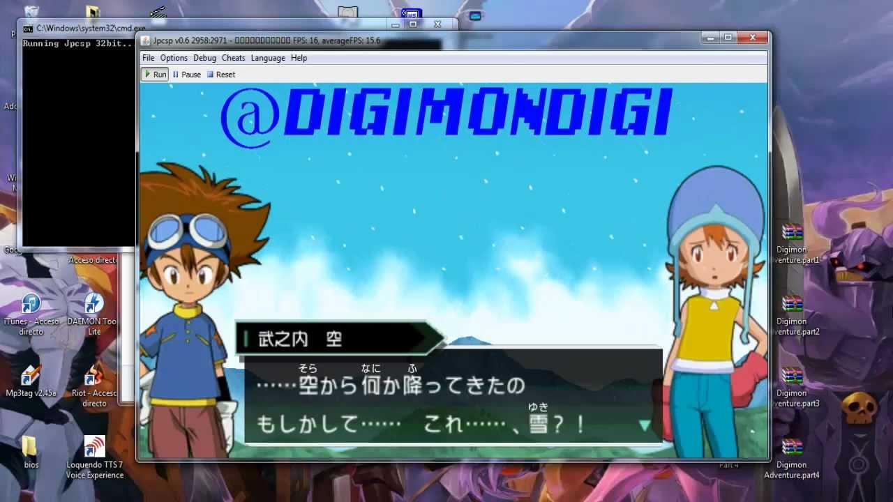 Juega Digimon Adventure Para Psp En Tu Pc Espanol