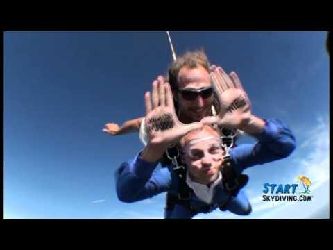 StartSkydiving.com: Jason Peters - Skydiving Proposal