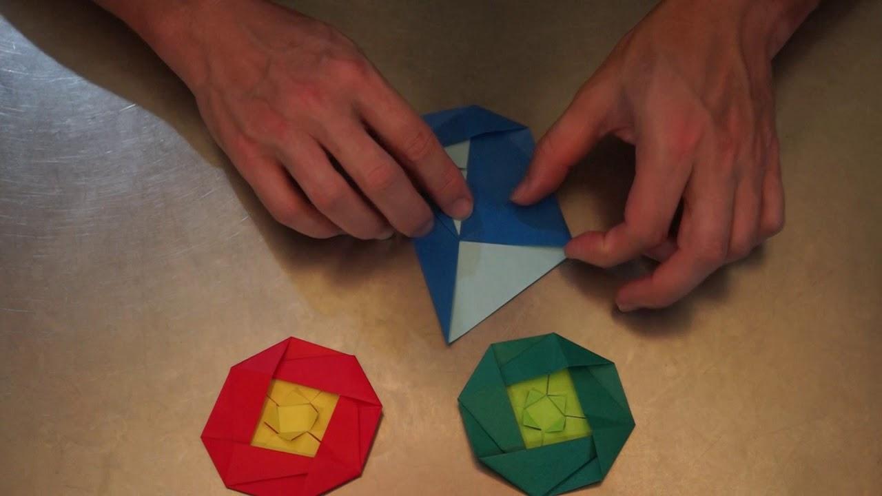 Origami Mandarin Bird Tutorial (Simon Andersen) - Paper Kawaii ... | 720x1280