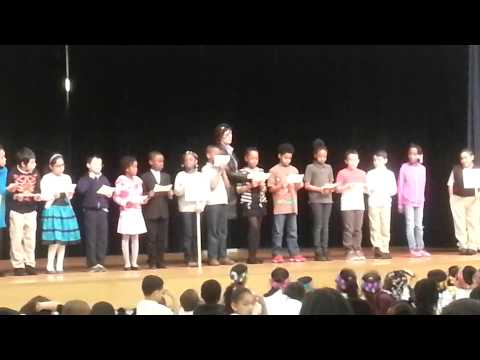 Tyla at Emerson School Play