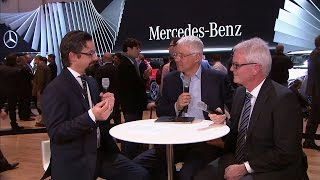 Expert Talk | Intelligente Antriebe - Genfer Automobil-Salon 2015