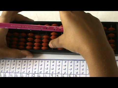 I Math Matrix Abacus Level 1g Youtube