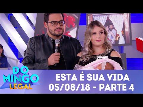 Esta É Sua Vida Matheus Ceará - Parte 4   Domingo Legal (05/08/18)