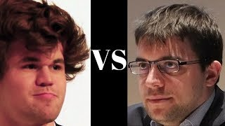 Magnificent Continuous Pressure! : Magnus Carlsen Vs Maxime Vachier-lagrave : Gashimov Memorial