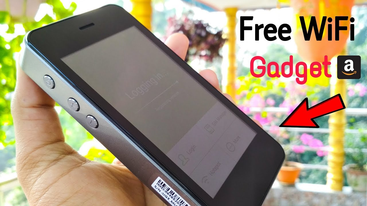 Free WiFi - GlocalMe G3 Mobile Hotspot 4G This New Technology CooL Gadget Features You've Never