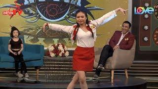 Lê Lộc tự tin khoe tài nhảy cùng vũ công thần đồng 8 tuổi Nguyễn Hạnh Mỹ Trâm 😍