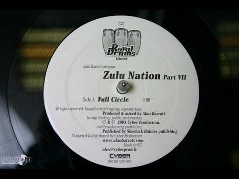 Alan Barratt - Zulu Nation (Royal Drums limited mix)