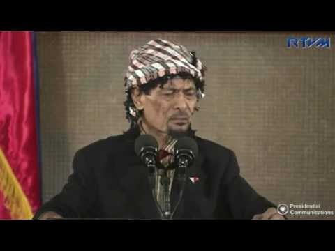 Misuari accuses Malaysia of using Moro people in Sipadan kidnapping