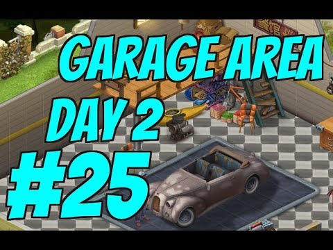 HOMESCAPES Gameplay Story Walkthrough Part #25 | Garage Area Day 2