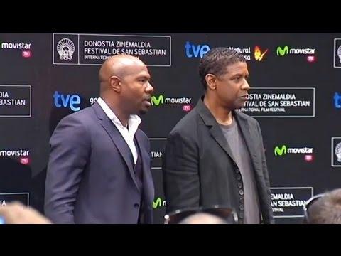 Denzel Washington presenta 'El protector' en San Sebastián