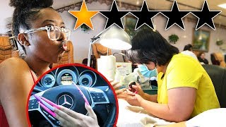 I Went To The Worst Reviewed Nail Salon On Yelp In My City! *1 Star*