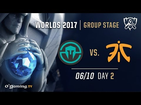 Immortals vs Fnatic - World Championship 2017 - Group Stage - Day 2 - League of Legends