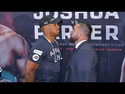 Anthony Joshua vs Joseph Parker FACE TO FACE | London Press Conference