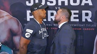 Anthony Joshua vs Joseph Parker FACE TO FACE | London Press Conference