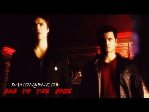 Enzo&Damon Salvatore →Bad To The Bone← HD