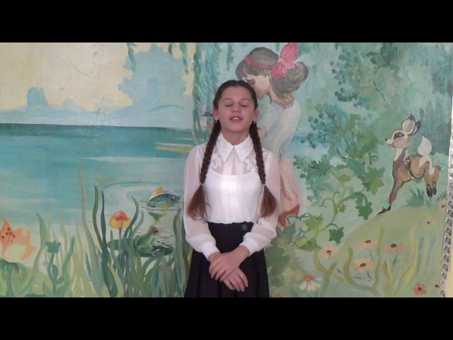 Изображение предпросмотра прочтения – МаринаЖолтикова читает произведение «Майская песенка» В.В.Маяковского