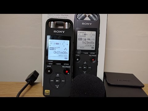Sony ICD-SX2000 Audio Recorder - Unboxing & Audio Tests