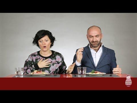 Итальянцы пробуют макароны по-русски - Cмотреть видео онлайн с youtube, скачать бесплатно с ютуба