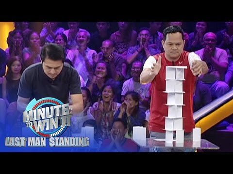 Paper Scraper Minute To Win It Last Man Standing