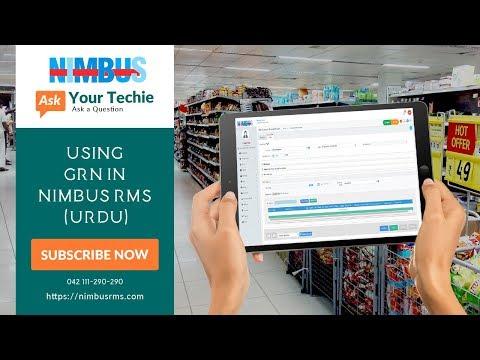Using GRN In Nimbus RMS (Urdu)