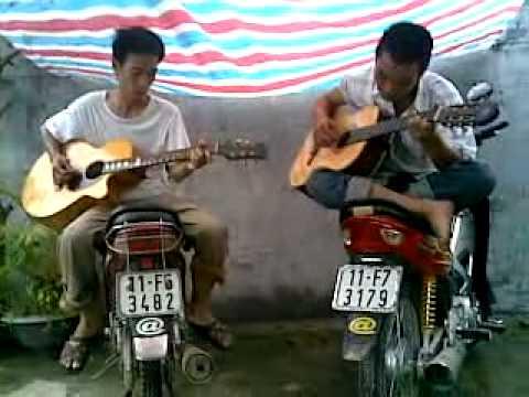 Liên khúc guitar Trái tim bên lề-Tình nồng (Thủy Kai vs Hùng râu-27-08-2007)