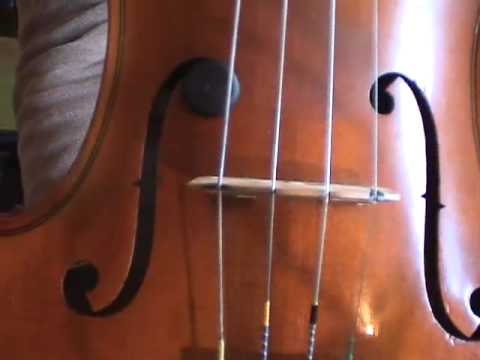 """How To Position, Setup, And Adjust A Violin Or Fiddle Bridge, By Ryan Thomson, """"Captain Fiddle"""""""