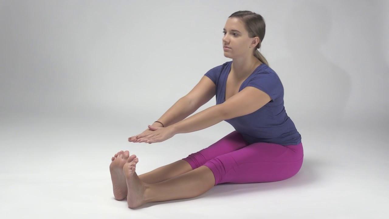Long Sitting Hamstring Stretch - YouTube