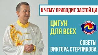 К чему приводит застой Ци Советы Виктора Стерликова