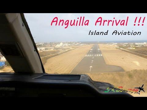Islander Adventures !!! Trans Anguilla Airways arrival @ homebase airport in Anguilla