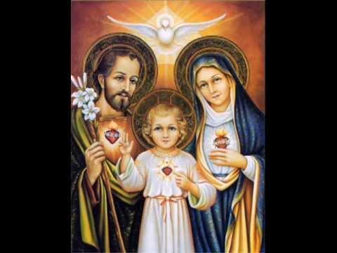 TERÇO DA SAGRADA FAMÍLIA JESUS, MARIA E JOSÉ NOSSA FAMÍLIA VOSSA É !