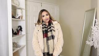 FASHION NOVA CURVE JACKETS AND SCARF WINTER HAUL