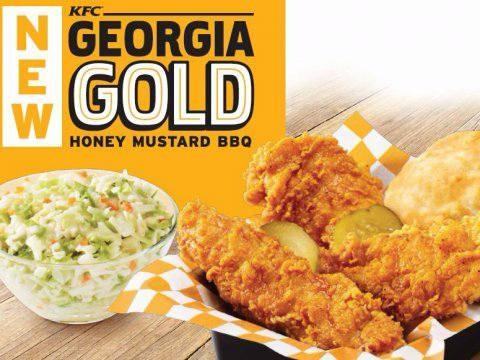 KFC Georgia Gold Fried Chicken: Food Review
