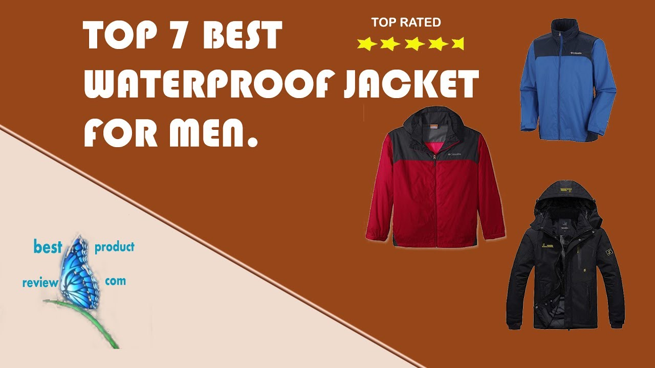 b0f586496640 Best lightweight waterproof jacket? Top 7 best mens waterproof rain jacket  with hood sale.