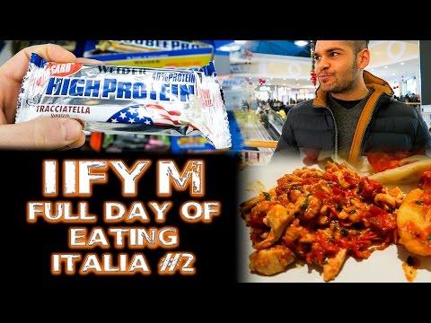 IIFYM - Full Day Of Eating Italia #2 | POST-ABBUFFATE NATALIZIE