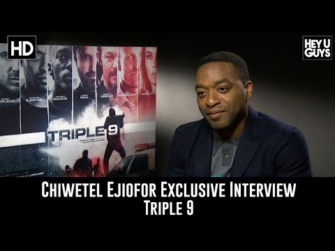 Chiwetel Ejiofor Exclusive Interview - Triple 9