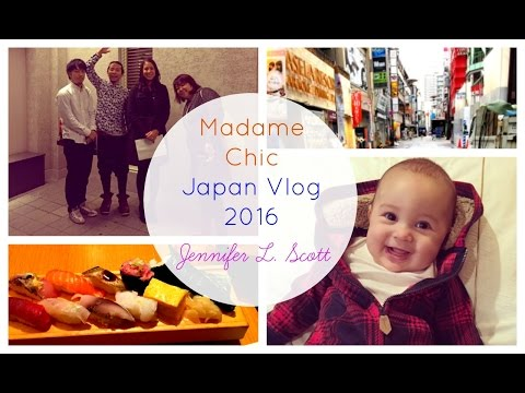 Japan Vlog 2016 Jennifer L. Scott