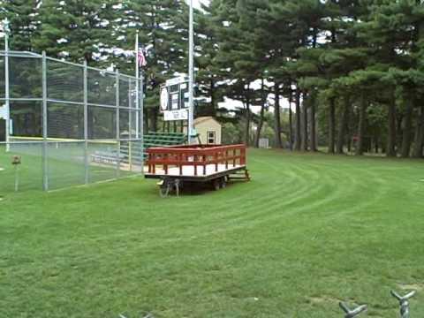 Szot Park Stadium In Chicopee Mass.
