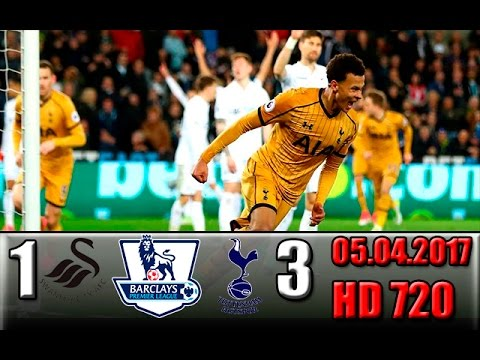 Download Swansea 1-3 Tottenham  All Goals and Highlights !!! (Premier League - Round 31) 05.04.2017