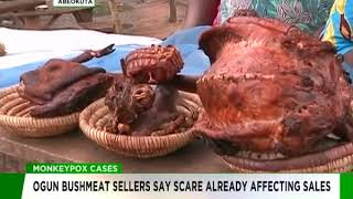 MonkeyPox Outbreak: Scare already affecting bush meat sales in Ogun
