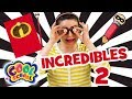 INCREDIBLES 2 CRAFT With Crafty Carol Disney Crafts Cool School Crafts For Kids mp3