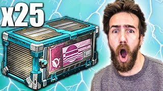 25 NEW VELOCITY ROCKET LEAGUE CRATE OPENING!