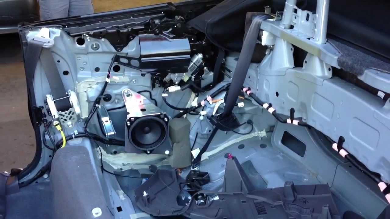 2004 Toyota Highlander Wiring Diagram How To Fix Toyota Solara Convertible Jbl Stereo Cutting