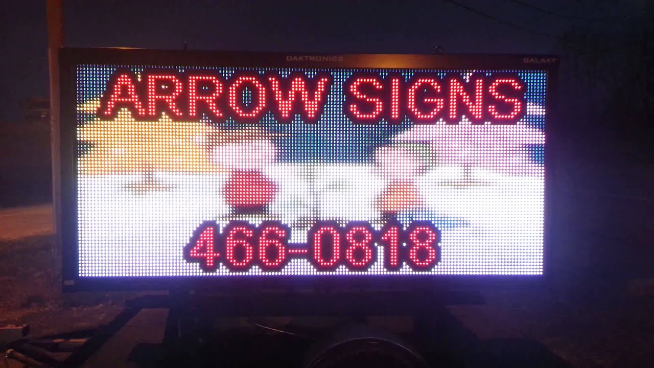 Christmas Arrow Signs.Merry Christmas From Arrow Signs Best Led Signs Are From Daktronics