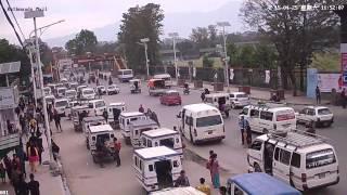 Nepal Earthquake Live  CCTV Footage : Tundikhel Gate