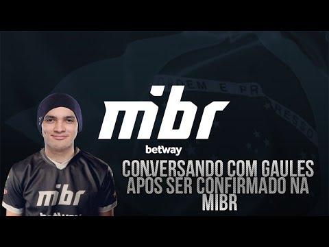 Gaules entrevistando TACO e ZEWS pós confirmação a MIBR