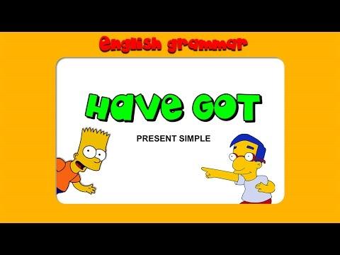 Глагол Have Got и Has Got в английском языке. Грамматика английского языка.