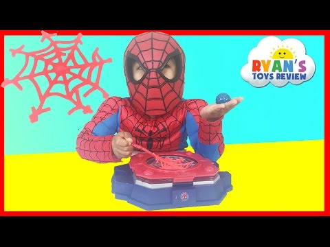 Thumbnail: Marvel Science Spider Man Web Creator Lab Kids Video Ryan ToysReview
