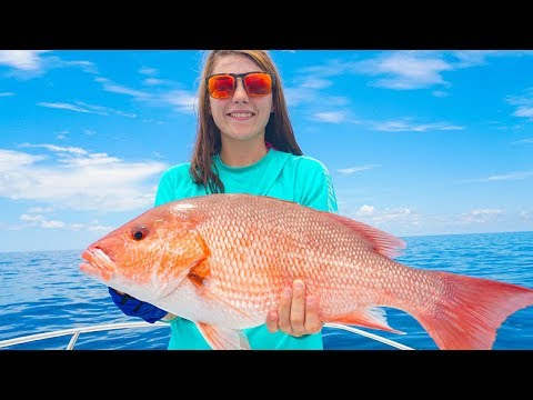 Offshore Bottom Fishing For Snapper And Grouper