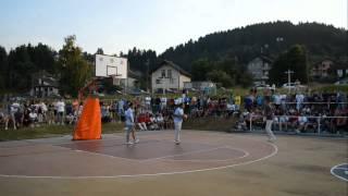Finale turnira u uličnom basketu Pale 2012