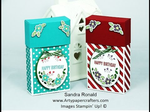 HANDMADE GIFT BOX for That's the TAG - SandraR Stampin' Up! Demonstrator Independent